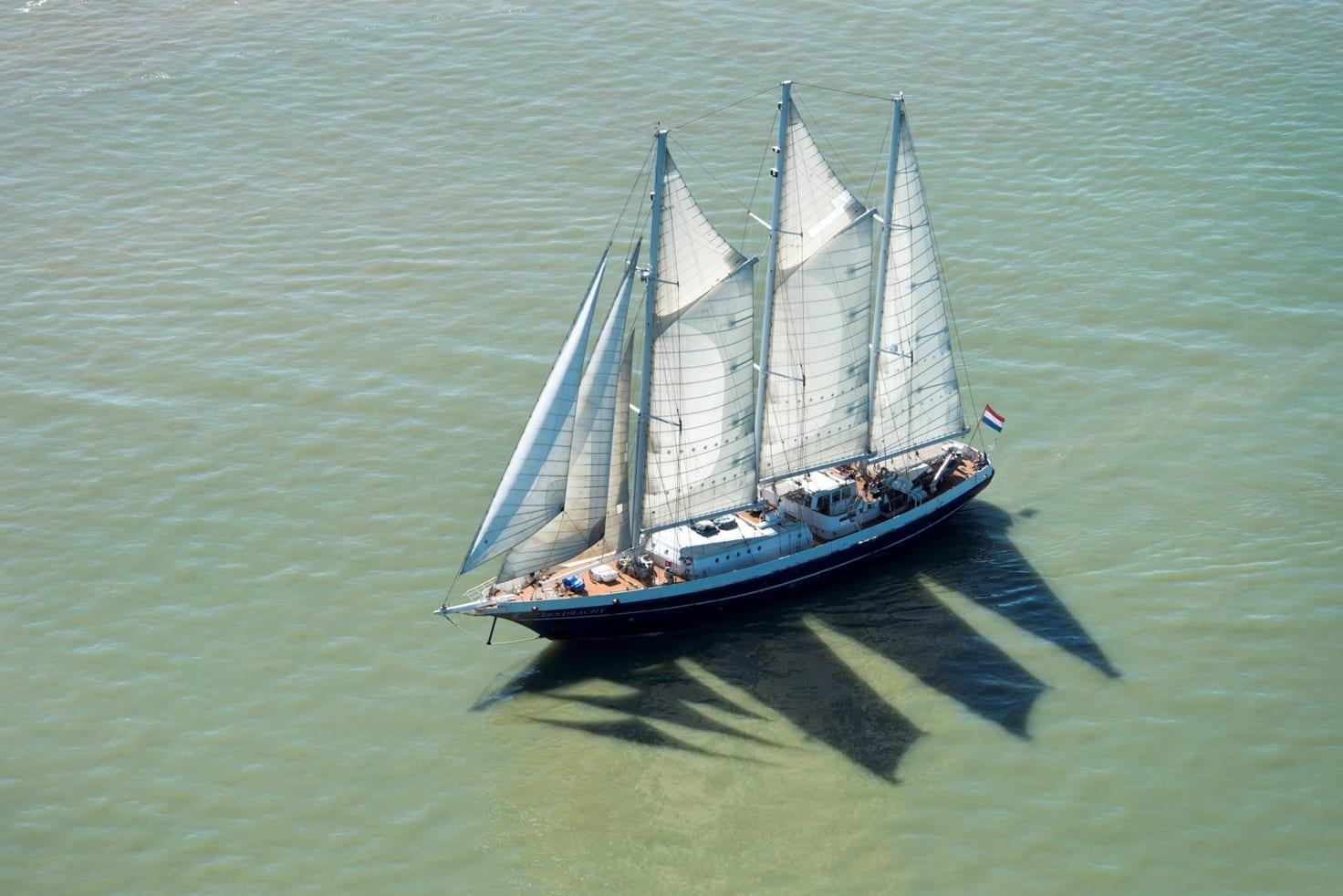 Zeilschip Eendracht voltuig