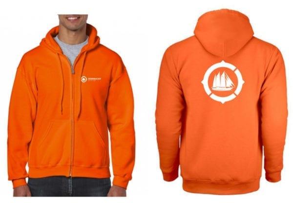 Eendracht hoodie - oranje